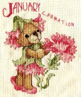 January Carnation by SugarGaL