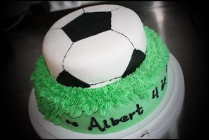 I'm A Soccer For Cake! by Leoness