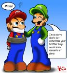 Luigi want glory too by DiscoSaeba