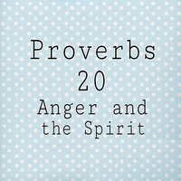 Proverbs 20 Anger and the Spirit by 1234RoseSmith