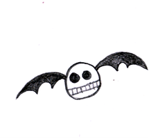 Skull Bat 2 by jess13795