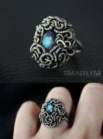 Medusa ring by IMNIUM