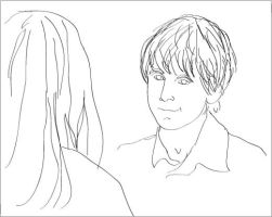 WIP FF Neville and Ginny by spaztron