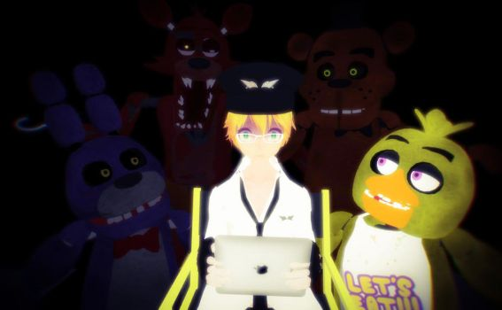 Five Nights at Freddy's Video link by mizuki12341