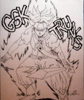 Gsk Trunks lineart by idont0know