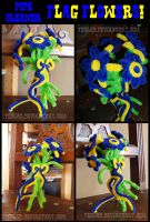 Pipecleaner Flag Flowers by teblad
