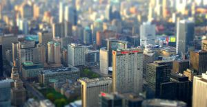 Toronto Tiltshift by Cydel