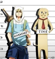 Just-Finn-and-Jake-From-Adventure-Time- by BANAFRIT1