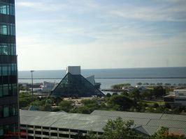 Rock and Roll Hall of Fame From My Window by SD-of-Chaos-Society