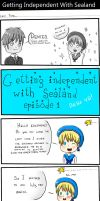 Getting independent with Sealand part 1 by xbubblegumprincess