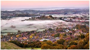 Glastonbury Mist by SebastianKraus