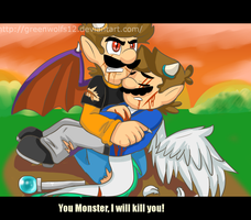 Rq: Dragon luigi and mario by greenwolfs12