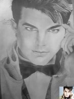 My sketch Of Adam Lambert by DICapriofan