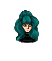 Teal-haired Astronema by cellytron