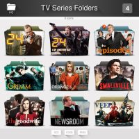 TV Series Folder Icons - PACK 04 by limav