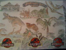 The Jurassic Park Trilogy by Jedi-Master-Autobot
