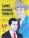 Dallas: A tribute to Larry (J.R.) Hagman (Color #2 by RoyPrince