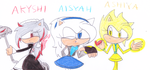 the 3 A's by sonic4ever760