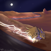 Dry Lightning by Wolfy-T