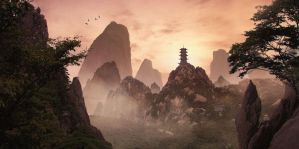 Huangshan by Tnco