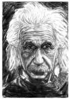 Albert Einstein by FDupain