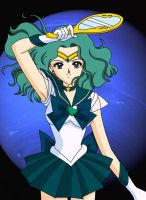 Sailor Neptune 2 by BrokenSilhouette77