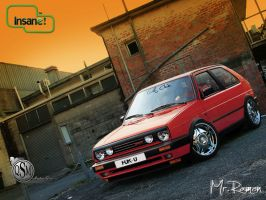 Vw Golf Mafia Style by Mr-Ramon