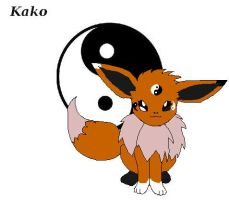 Kako-Eevee Contest Entry by NebulaWords