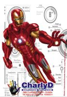 Ironman para Charly by sapienstoonz