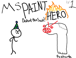 MS PAINT HERO by Khorde