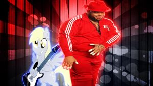 REQUEST: Derpy Hooves And Brodus Clay by TygerxL
