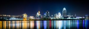 Cincinnati from the water front by ANNIHILATOR001