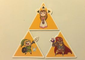 LoZ Magnets FOR SALE... 3 SETS LEFT! by Kauritsuo