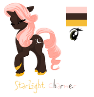 My pony OC: Starlight Charmer by FallenFireFox