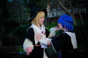Magi: Aladdin and Titus, I thought you were a girl by Shibuky