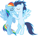 SoarinDash - Soft Kiss by BobtheLurker