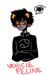 Vehicle Feline (Karkat Vantas) by KiyaAyraLuna