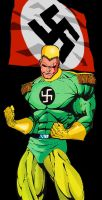 Captain Nazi by overlordusuck