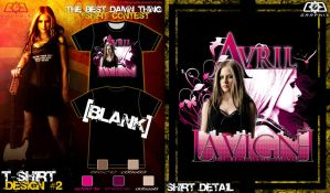 Avril Tshirt contest submit 2 by C0G-Graph1x