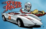 Go Speed Racer! GO! by JoeWillsArt