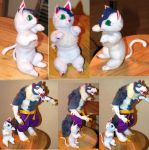 Felicia Darkstalkers Plush Toy by Jarahamee