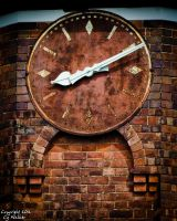 Clock on Northdown Road, Cliftonville by AstarothSquirrel