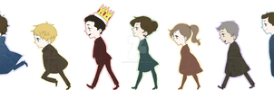Sherlock: Parade by confettiparfait