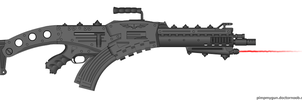 Urkradach heavy rifle Hydra by Robbe25