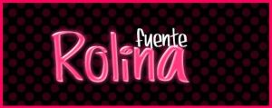 Rolina .-Font by Movimientodealegria