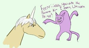 Fenris the Unicorn by Ellagne