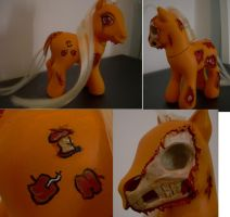 Applejack is death Custom by Hatsetsut