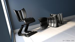 Funky Chairs by VickyM72