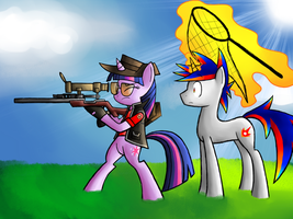 MLP Birthday Game: Going Hunting by Gallade77