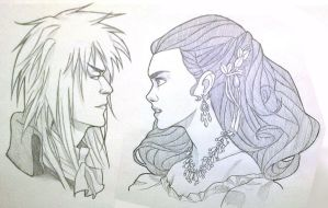 Sarah and Jareth by hollywoodhousing